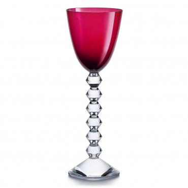 """Набор из двух красных бокалов для вина """"Вега"""", h 23 см"""