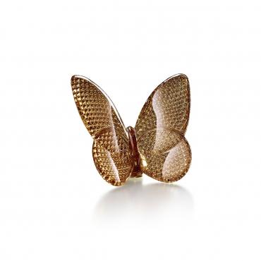 """Статуэтка """"Бабочка"""" золотая, h 6,5 см"""