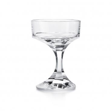 """Набор из двух бокалов - блюдец для шампанского """"Narcisse"""", h 14 см"""