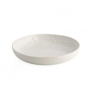 """Тарелка для крем-супа/пасты """" White Orchid"""", d 22 см"""