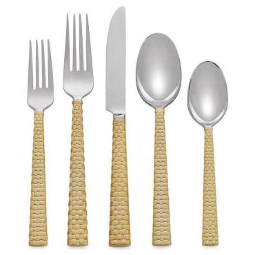 """Набор из пяти столовых приборов """"Palm Gold"""""""