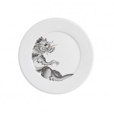 """Десертная тарелка """"Дракон Мин"""", D 22 см"""