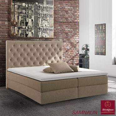 Кровать деревянная, пружинная, демонстрационная, с матрацем 160х200 см, с мягким изголовьем и двумя ящиками