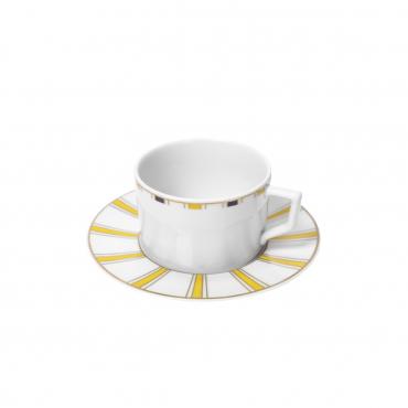 "Набор из двух чайных чашек с блюдцами ""№41 Stripes"""