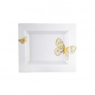 """Мелочница """"Золотые бабочки"""", 16 х 13,5 см"""