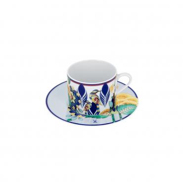 """Кофейная чашка и блюдце """"Meissen Collage"""", v 0,15 л"""