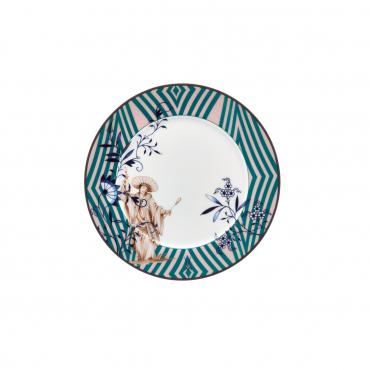 """Пирожковая тарелка """"Благородный Китай"""", D 17 см"""