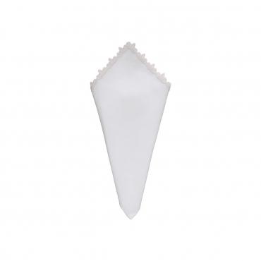 """Салфетка с вышивкой """"Riva"""", 45x45 см (кольцо для салфетки отдельно)"""