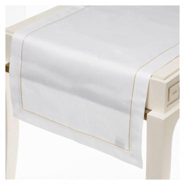 """Шлейф сатиновый с вышивкой """"Pearl"""", 50x160 см"""