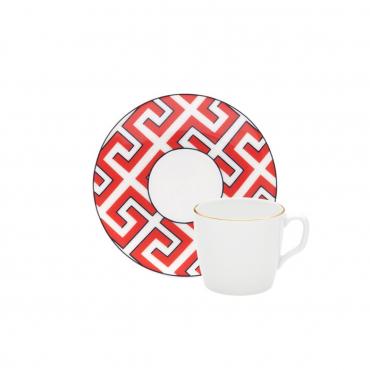 """Кофейная чашка позолоченная """"Cosmopolitan Royal Palace"""", V 0,05 л (блюдце отдельно)"""