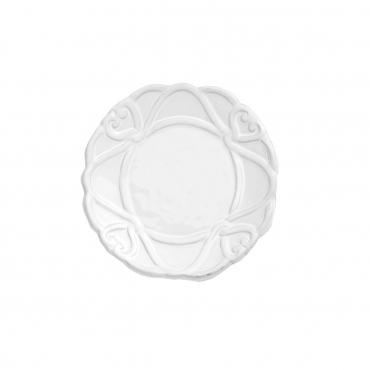 """Пирожковая тарелка """"Bella Bianca"""", d 17 см"""