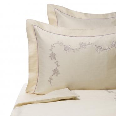 """Комплект из двух наволочек с вышивкой """"Embroidery"""", 65х65"""
