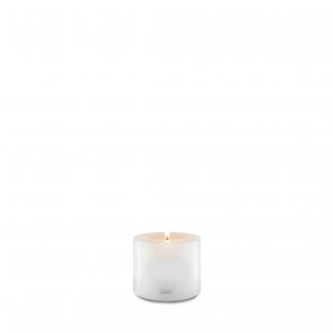 """Подсвечник белый в виде свечи """"Farluce"""", h 8 см"""