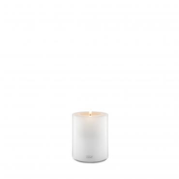 """Подсвечник белый в виде свечи """"Farluce"""", h 12 см"""