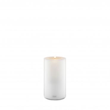 """Подсвечник белый в виде свечи """"Farluce"""", h 21 см"""