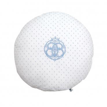 """Подушка круглая """"Fresh Blue"""", d 35 см"""