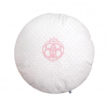 """Подушка круглая """"Fresh Pink"""", d 35 см"""