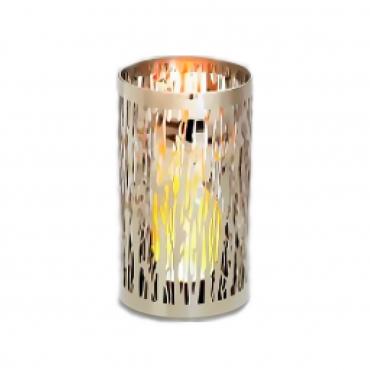"""Колпак для свечи хромированный """"Виноградная лоза"""", h 22 см"""