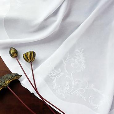 """Плейсмат льняной с ручной вышивкой """"Classica"""", 51х38 см"""