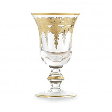 """Бокал для воды """"Vetro Gold"""", h 16,5 см"""