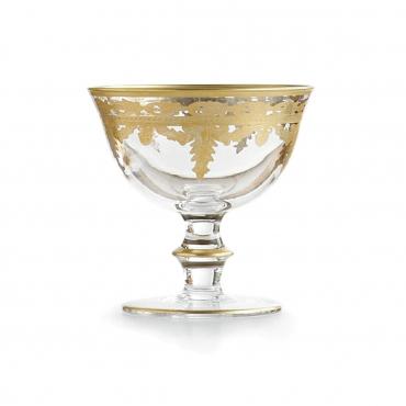 """Бокал для шампанского """"Vetro Gold"""", h 11 см"""