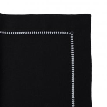 """Шлейф льняной с ручной вышивкой """"Linen"""" 55х150 см"""