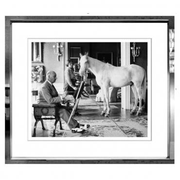"""Фотопринт в раме """"Pony Painter"""", 114x97 см"""