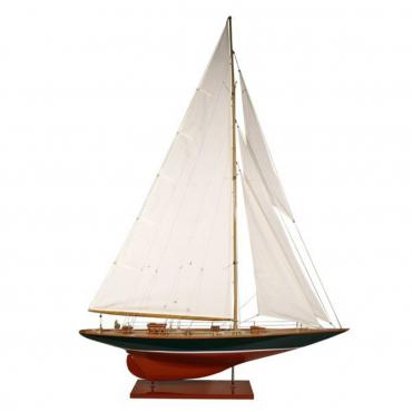 """Декоративный макет парусной яхты """"Velsheda"""", l 75 см"""