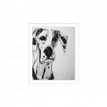 """Фотопринт в раме """"Dogs"""", 43x36 см"""