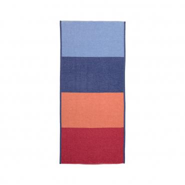 "Гостевое полотенце ""Блоки"", шенилл, 37х80 см"