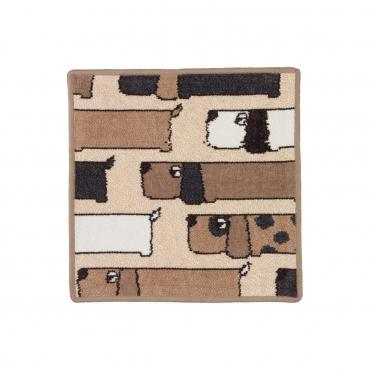 """Полотенце для лица  """"Dogs"""", 30x30 см"""