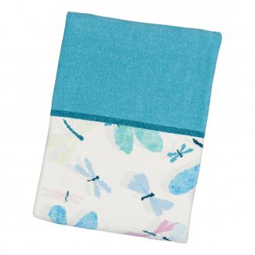 """Банное полотенце """"Dragonfly"""", шенилл, 110х160 см"""