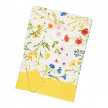 """Банное полотенце """"Flower Meadow"""", шенилл, 150х100 см"""