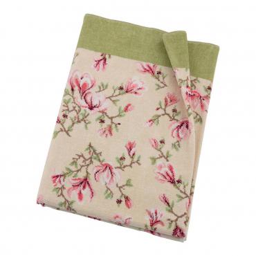 "Банное полотенце ""Magnolia"", шенилл, 150х100 см"