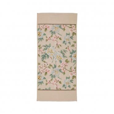 """Гостевое полотенце """"Ванильная роза"""", шенилл, 37х80 см"""