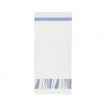 "Гостевое полотенце ""Волна"", шенилл, 80х37 см"