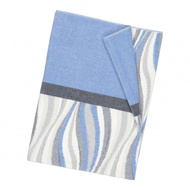 """Банное полотенце """"Волна"""", шенилл, 150х100 см"""